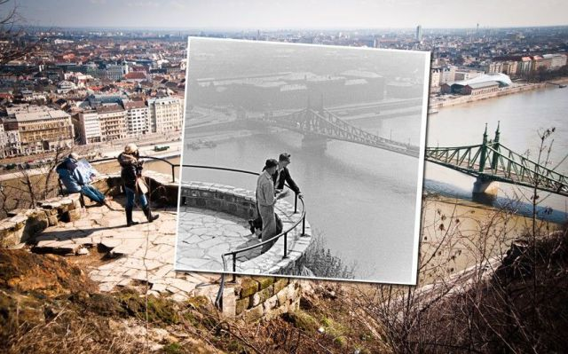 Photos That Literally Offer a Glimpse into the Past