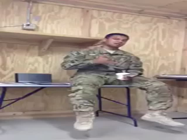 Soldier's Got Talent – Covers Rihanna and Nails It!