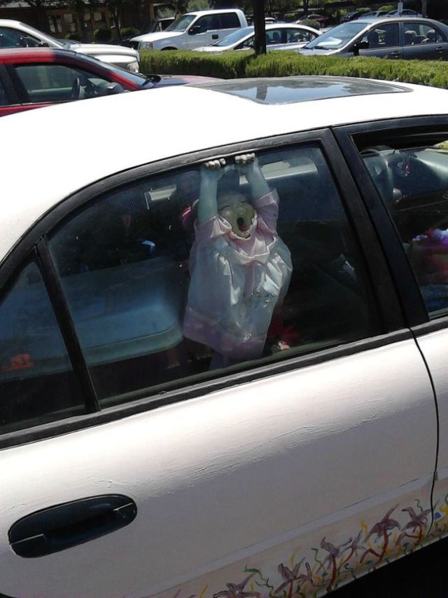 A Terrifying Way to Prank Someone with Your Car