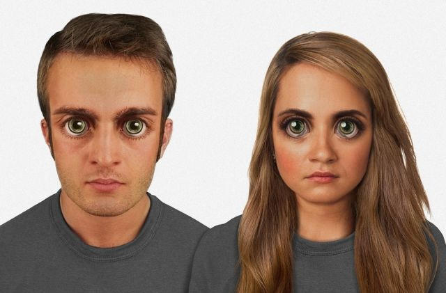 Geneticists Depict How Human Faces Will Look in the Future