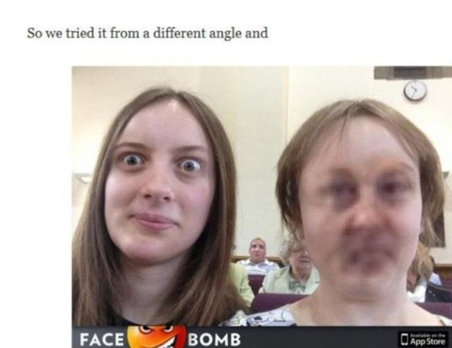 Funny Faceswap App Fail