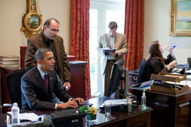 Obama Keeps an Eye on Your Emails