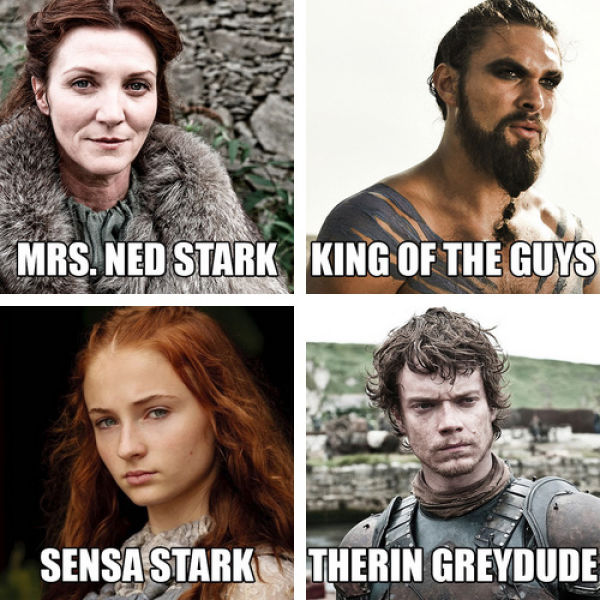 "What the ""Game of Thrones"" Characters Should Really Be Named"