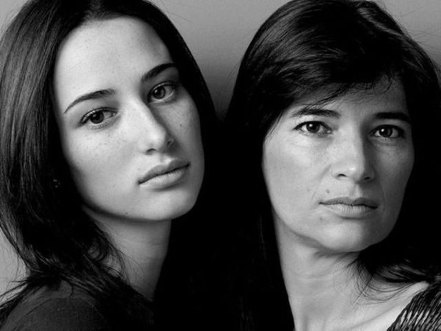 The Moms of Models Pose with Their Beautiful Daughters