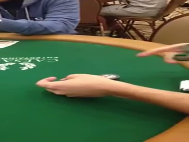 Most Awesome Poker Chip Trick Ever