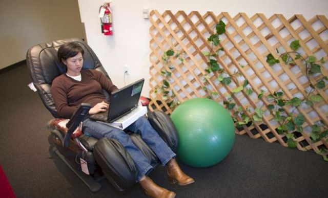 It's All Play and No Work at Google Headquarters
