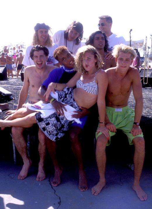 """The Younger """"No Doubt"""" Group Members in 1989"""