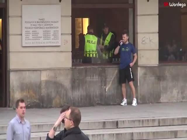 Funny Police Trainer Prank