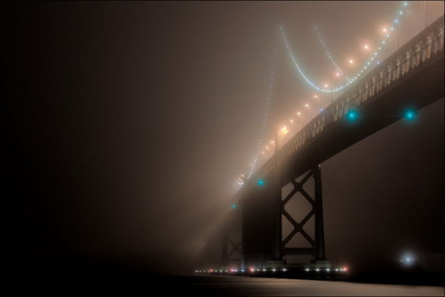 Beautiful Photographs Capture San Francisco Shrouded in Mist