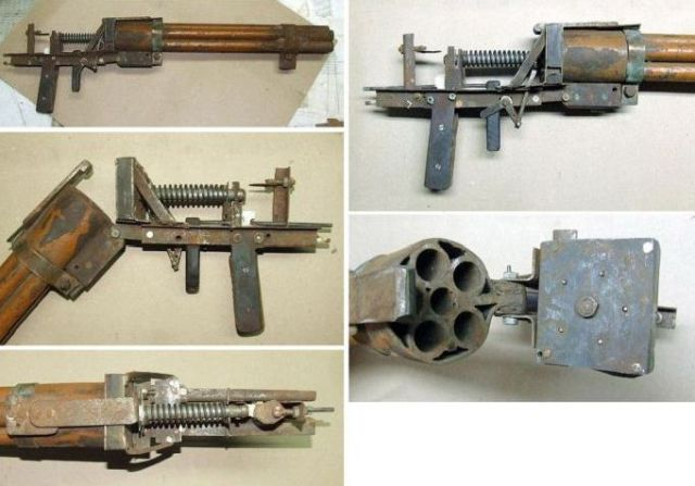 An Interesting Assortment of Homemade Weapons