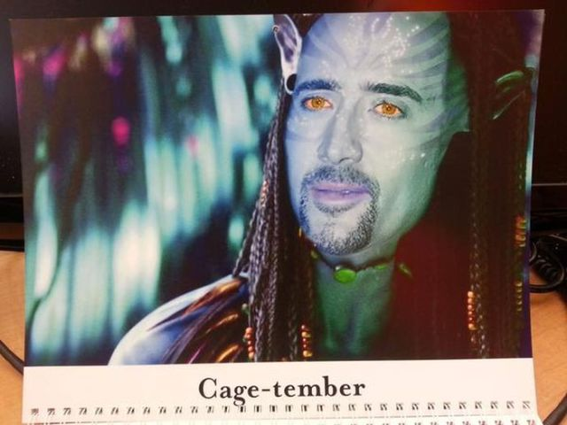Every Day Is Cageday with This Nicholas Cage Inspired Calendar