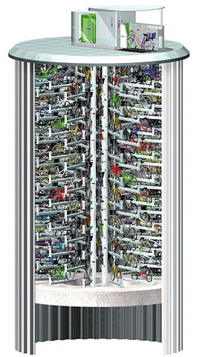 Have You Ever Wondered Where All the Bicycles Are Parked in Japan?