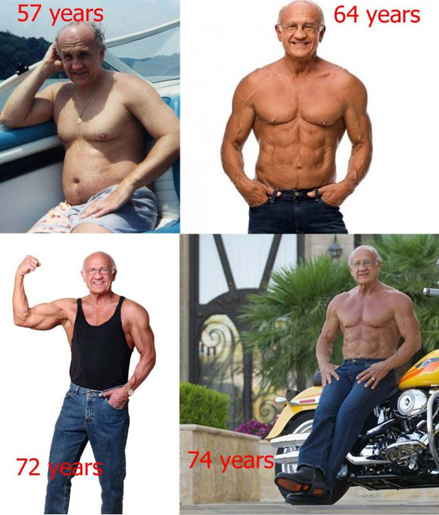 Guys Working On Cars >> The Most Ripped Grandfather Ever (20 pics) - Izismile.com