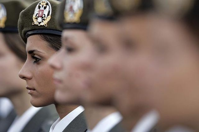 Which Country Has the Most Beautiful Female Army Soldiers?