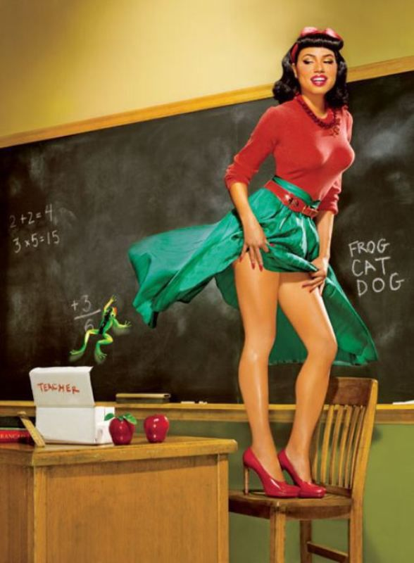Celebrities Make the Perfect Pin Ups