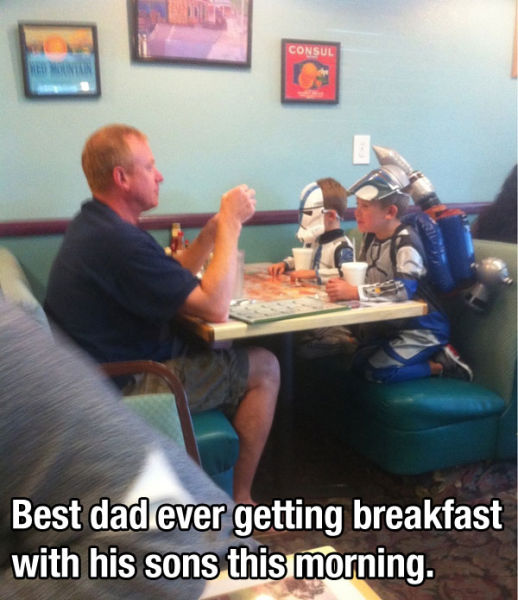In Honor of All the Terrific Dads in the World