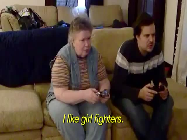 Gaming with My Mom