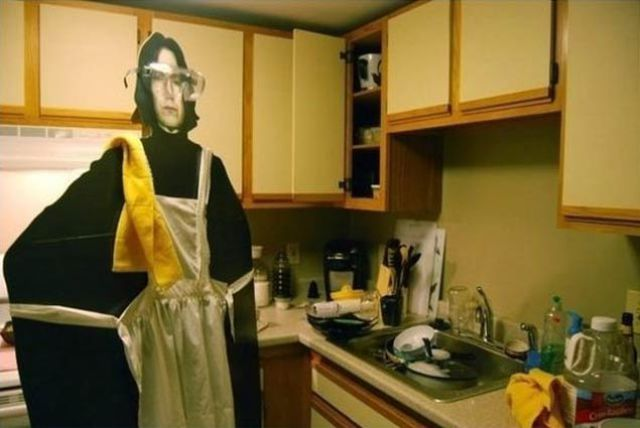 Just Hanging Out with Severus Snape