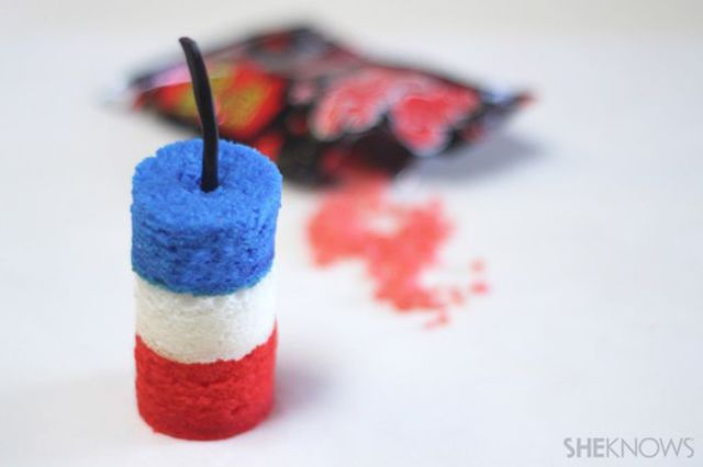 Make Your Own Patriotic Pop Rocks Treats to Celebrate the Fourth of July
