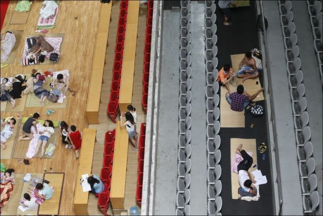 See How Chinese Students Escape the Heat