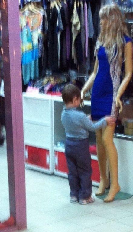 Boys Grow Up So Fast…
