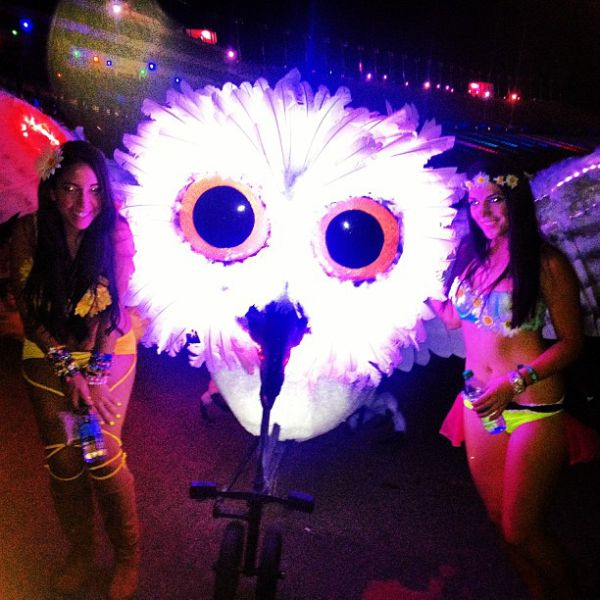 The Electrifying Ladies of the Electronic Daisy Festival in Las Vegas