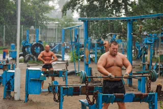 The Most Gruelling Gym in the World