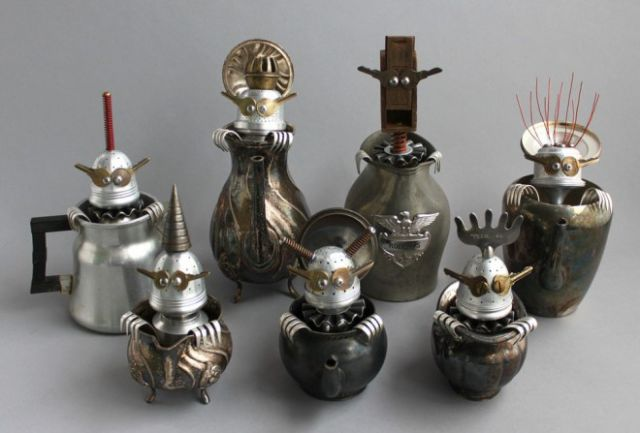Creative and Inspired Scrap Sculptures
