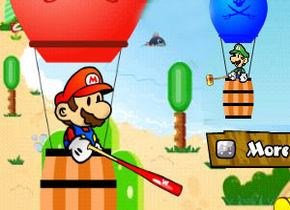 Mario vs Luigi Balloons War