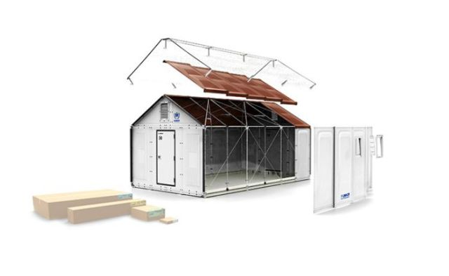IKEA Launches First Ever Boxed Refugee Shelters