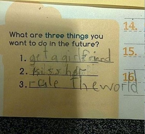 Kids Really Know How to Plan Ahead