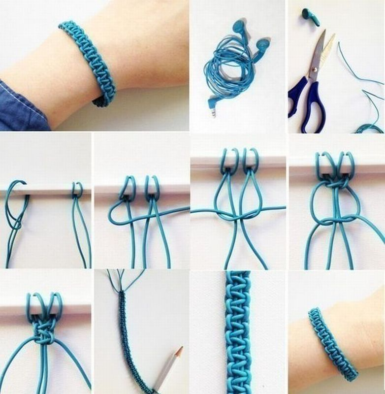 Плетение наушников