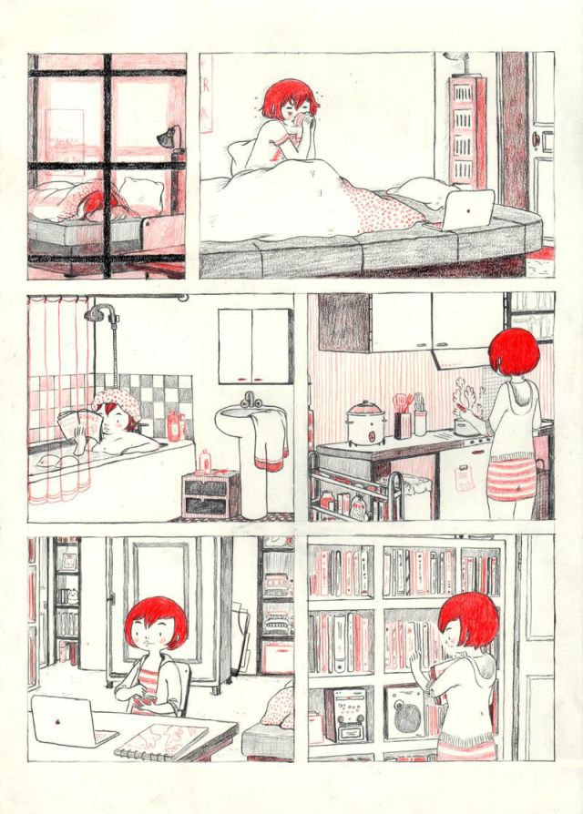 Comic Strip Goes Inside the Life of an Introvert