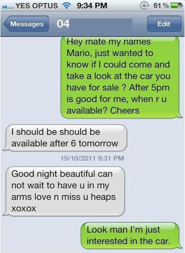 Wrong Number Texts That Are Too Funny for Words