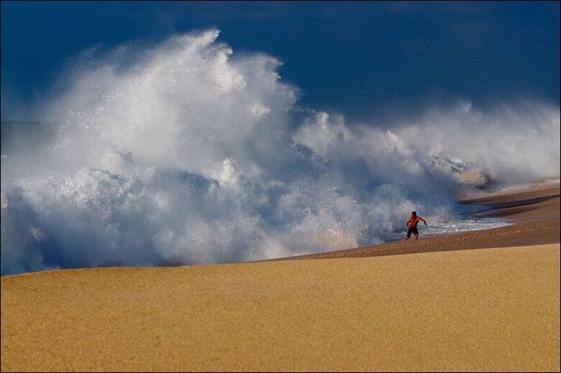Прикольные фото сделанные на пляже.