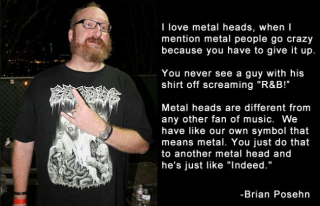A Tribute to Metal Lovers Everywhere