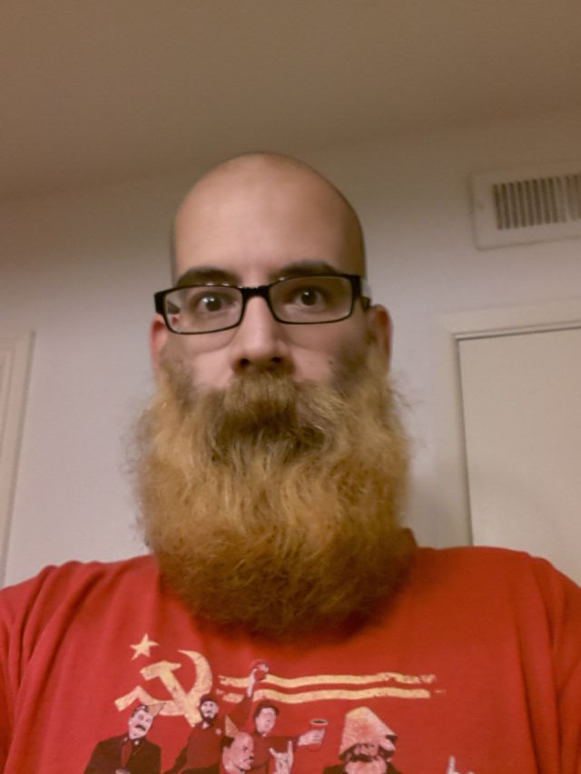 One Man's Final Adventures with His Impressive Beard