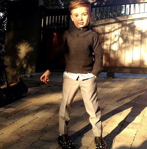 The 5 Year Old Fashion Stud!