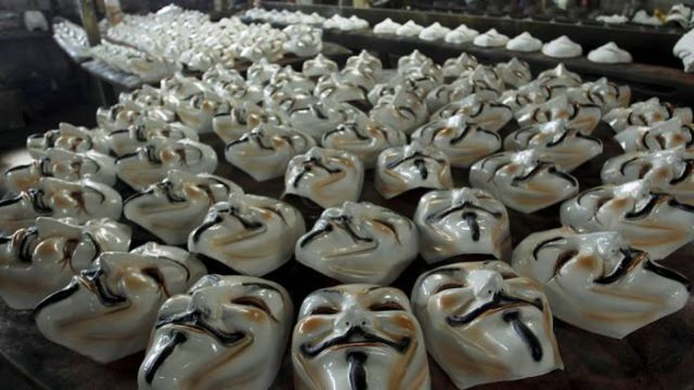 How Guy Fawkes Masks Are Made