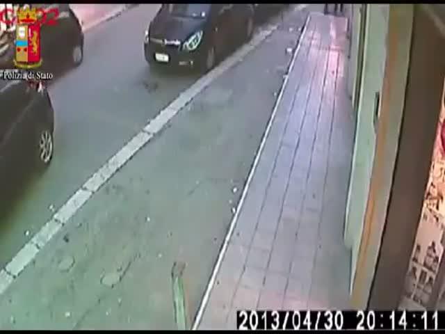 Classic Robbery Fail