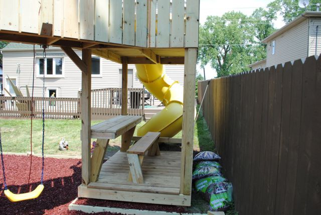 Dad Builds an Awesome Home Swing Set as a Surprise for His Daughter