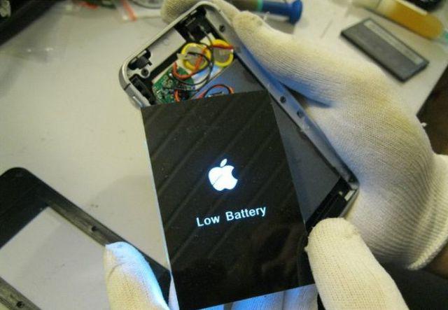 False iPhone Totally Fools User