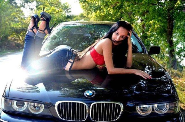Girls and Cars Are a Match Made in Heaven