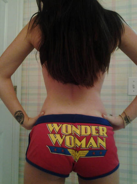 Girls in Superhero Undies are Ever Geek's Fantasy