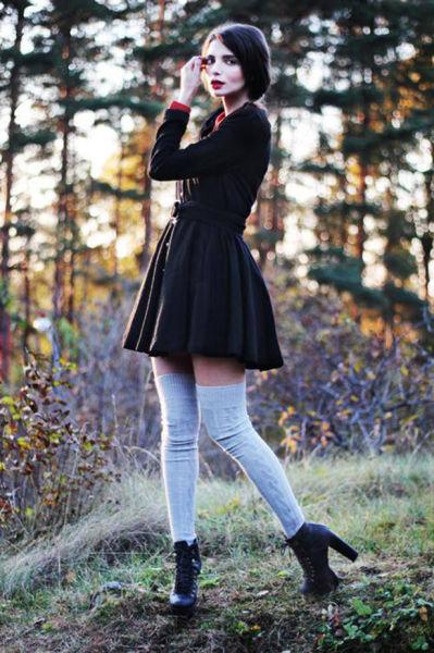 Teen babes in socks