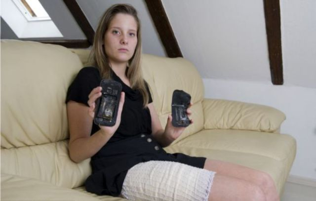 Teenager Gets More Than She Bargained for from Her Smartphone