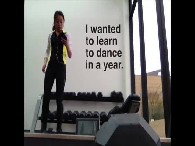 Girl Teaches Herself to Dance in One Year