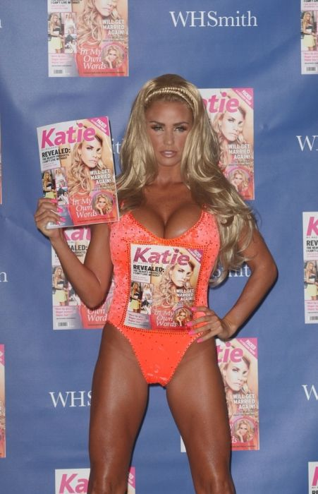 Katie Price Looks Hotter Out of Clothes Than In