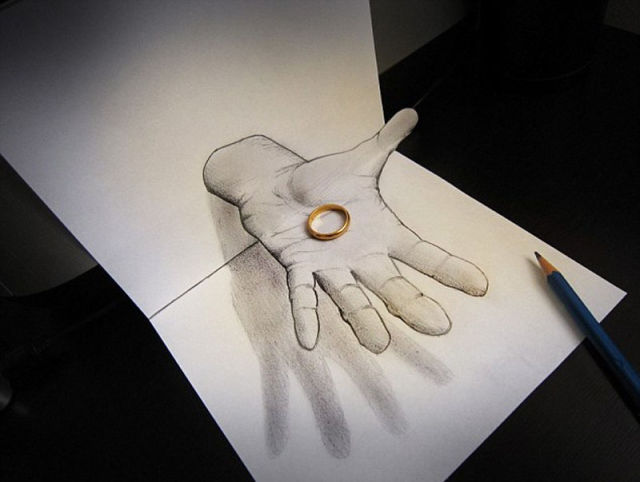 Unbelievably Intricate and Awesome 3D Drawings