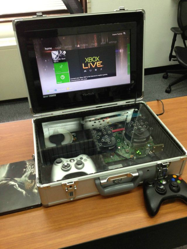 Gaming in a Briefcase